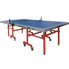Hot Sale Single Folding Ping Pong Tabel untuk Pelatihan