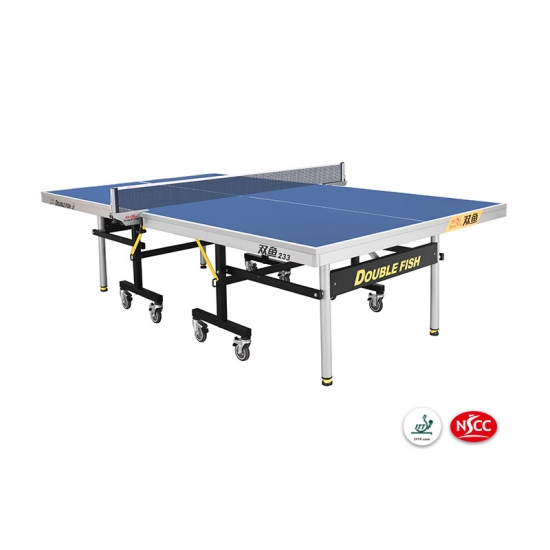 ITTF Approved Official movable table tennis table with wheels